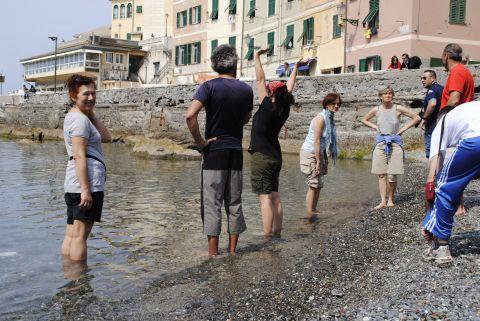 Con i piedi nel Mediterraneo