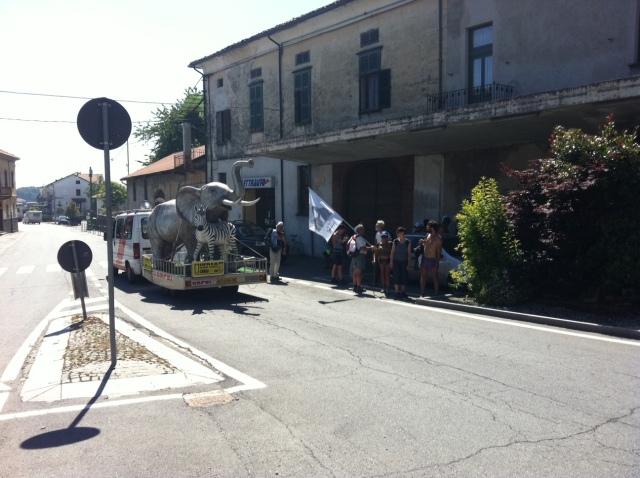A Cavaglià passa il circo Orfei
