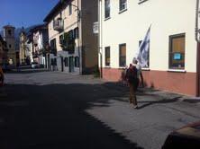 Arrivo a Borgofranco d'Ivrea