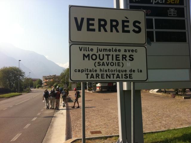 Arrivo a Verrès