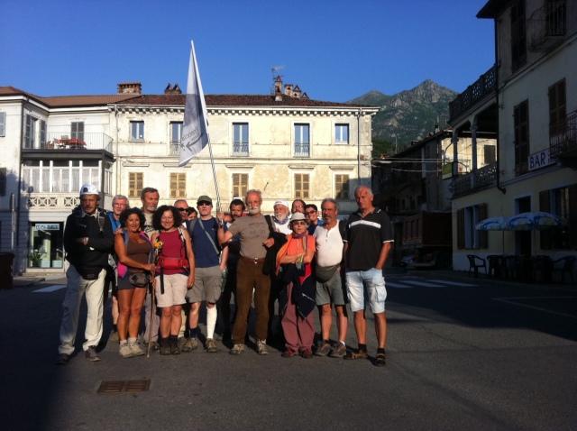 Partenza da Borgofranco d'Ivrea
