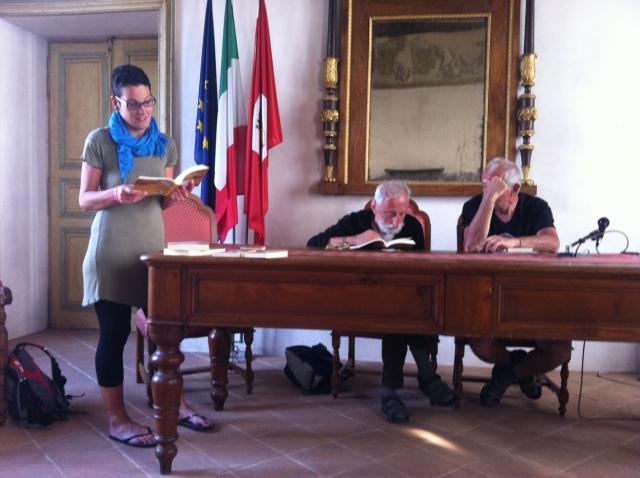 Roberta legge da Stella d'Italia