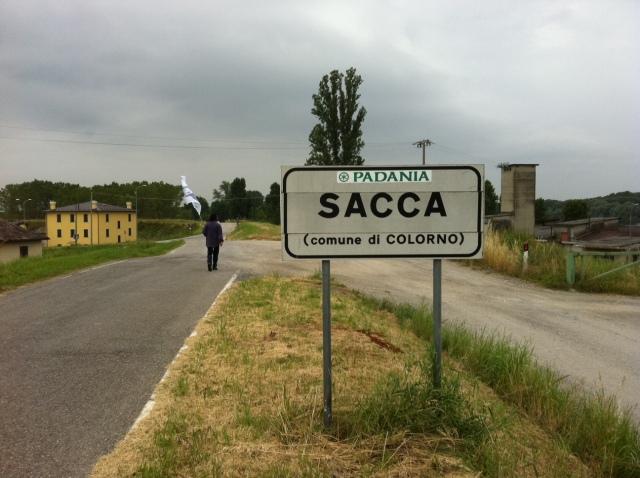 Sacca, Comune di Colorno, Stato di Padania